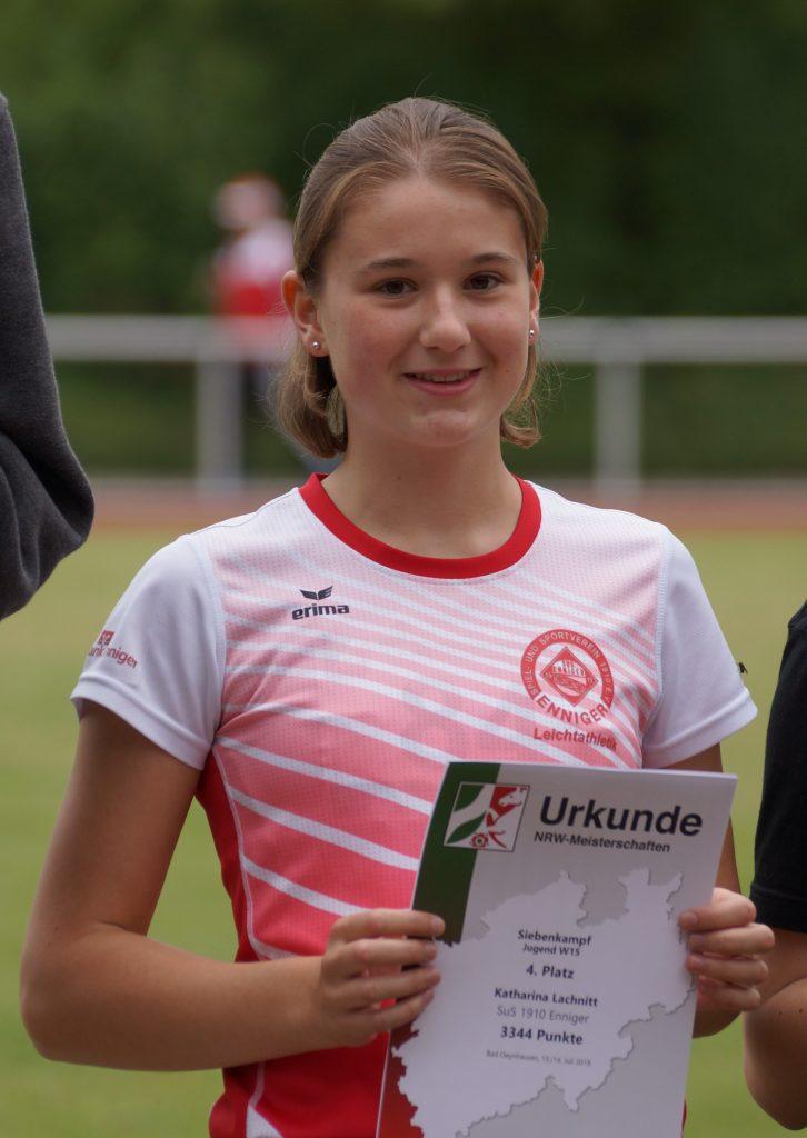 Katharina Lachnitt NRW Mehrkampfmeisterschaften 2019