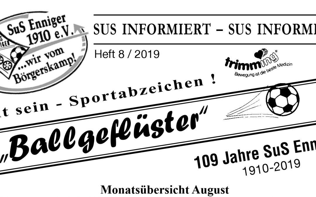 Ballgeflüster 08/2019